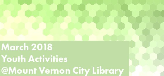 March 2018 Youth Activities