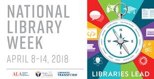 National Library Week April 8-14