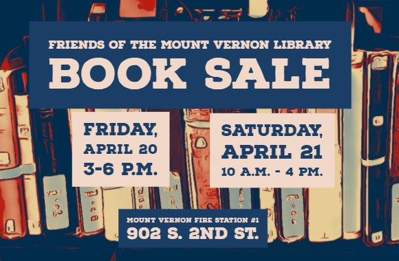 Friends of the Mount Vernon Library Book Sale
