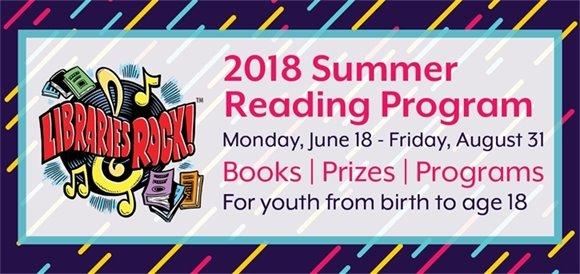 Libraries Rock! 2018 Summer Reading Program