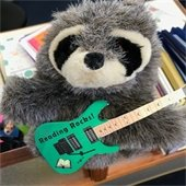 Rocky Raccoon - Summer Reading Mascot